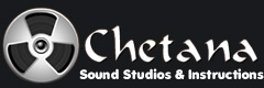 Chetana sound studio and instructions